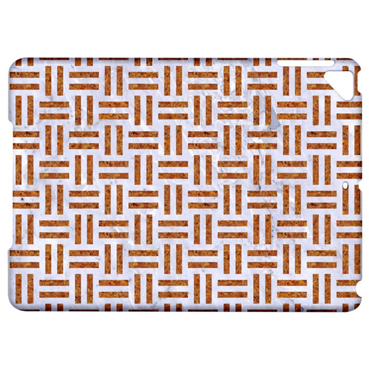 WOVEN1 WHITE MARBLE & RUSTED METAL (R) Apple iPad Pro 9.7   Hardshell Case
