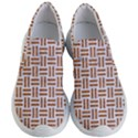 WOVEN1 WHITE MARBLE & RUSTED METAL (R) Women s Lightweight Slip Ons View1