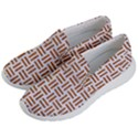 WOVEN1 WHITE MARBLE & RUSTED METAL (R) Women s Lightweight Slip Ons View2