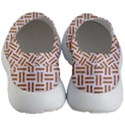 WOVEN1 WHITE MARBLE & RUSTED METAL (R) Women s Lightweight Slip Ons View4