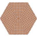 WOVEN1 WHITE MARBLE & RUSTED METAL Mini Folding Umbrellas View1