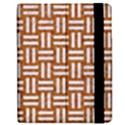 WOVEN1 WHITE MARBLE & RUSTED METAL Apple iPad Mini Flip Case View2