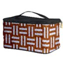 WOVEN1 WHITE MARBLE & RUSTED METAL Cosmetic Storage Case View3