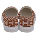 WOVEN1 WHITE MARBLE & RUSTED METAL Men s Canvas Slip Ons View4