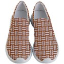 WOVEN1 WHITE MARBLE & RUSTED METAL Women s Lightweight Slip Ons View1
