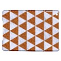 TRIANGLE3 WHITE MARBLE & RUSTED METAL iPad Air Hardshell Cases View1