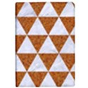 TRIANGLE3 WHITE MARBLE & RUSTED METAL Apple iPad Pro 12.9   Flip Case View1