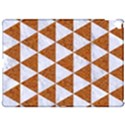 TRIANGLE3 WHITE MARBLE & RUSTED METAL Apple iPad Pro 12.9   Hardshell Case View1