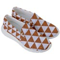 TRIANGLE3 WHITE MARBLE & RUSTED METAL Men s Lightweight Slip Ons View3