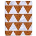 TRIANGLE2 WHITE MARBLE & RUSTED METAL Apple iPad 3/4 Flip Case View1