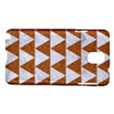 TRIANGLE2 WHITE MARBLE & RUSTED METAL Samsung Galaxy Note 3 N9005 Hardshell Case View1