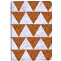 TRIANGLE2 WHITE MARBLE & RUSTED METAL iPad Air Flip View1