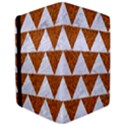 TRIANGLE2 WHITE MARBLE & RUSTED METAL iPad Air Flip View3
