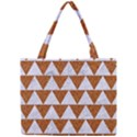 TRIANGLE2 WHITE MARBLE & RUSTED METAL Mini Tote Bag View1