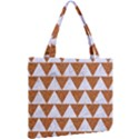 TRIANGLE2 WHITE MARBLE & RUSTED METAL Mini Tote Bag View2