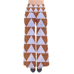 TRIANGLE2 WHITE MARBLE & RUSTED METAL Pants