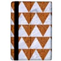 TRIANGLE2 WHITE MARBLE & RUSTED METAL Apple iPad Pro 12.9   Flip Case View4