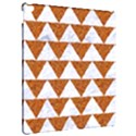 TRIANGLE2 WHITE MARBLE & RUSTED METAL Apple iPad Pro 12.9   Hardshell Case View2