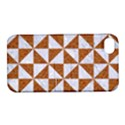 TRIANGLE1 WHITE MARBLE & RUSTED METAL Apple iPhone 4/4S Hardshell Case with Stand View1