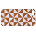 TRIANGLE1 WHITE MARBLE & RUSTED METAL Apple iPhone 5 Hardshell Case with Stand View1