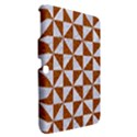 TRIANGLE1 WHITE MARBLE & RUSTED METAL Samsung Galaxy Tab 3 (10.1 ) P5200 Hardshell Case  View2