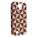TRIANGLE1 WHITE MARBLE & RUSTED METAL Samsung Galaxy S4 Classic Hardshell Case (PC+Silicone) View2