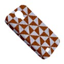 TRIANGLE1 WHITE MARBLE & RUSTED METAL Samsung Galaxy S4 Classic Hardshell Case (PC+Silicone) View5