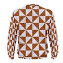 TRIANGLE1 WHITE MARBLE & RUSTED METAL Men s Sweatshirt View2