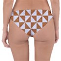 TRIANGLE1 WHITE MARBLE & RUSTED METAL Reversible Hipster Bikini Bottoms View4