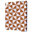 TRIANGLE1 WHITE MARBLE & RUSTED METAL Apple iPad Pro 9.7   Hardshell Case View3