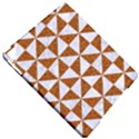 TRIANGLE1 WHITE MARBLE & RUSTED METAL Apple iPad Pro 9.7   Hardshell Case View4