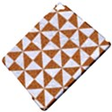 TRIANGLE1 WHITE MARBLE & RUSTED METAL Apple iPad Pro 9.7   Hardshell Case View5