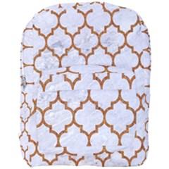 TILE1 WHITE MARBLE & RUSTED METAL (R) Full Print Backpack