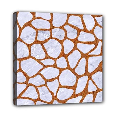 Skin1 White Marble & Rusted Metal Multi Function Bag by trendistuff