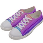 c food 12-01 Women s Low Top Canvas Sneakers