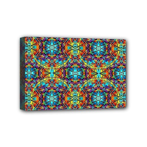 Pattern 16 Mini Canvas 6  X 4  by ArtworkByPatrick