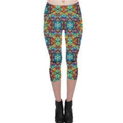 Pattern 16 Capri Leggings