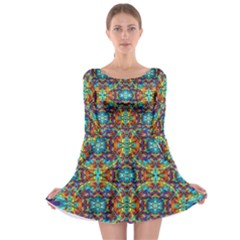 Pattern 16 Long Sleeve Skater Dress