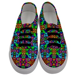 Artwork By Patrick Pattern 18 Men s Classic Low Top Sneakers