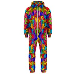 Artwork By Patrick Pattern 19 Hooded Jumpsuit (men)