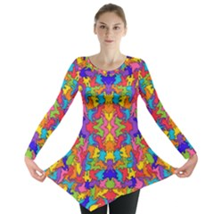 Artwork By Patrick Pattern 19 Long Sleeve Tunic