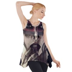 Femininely Badass Side Drop Tank Tunic by sirenstore