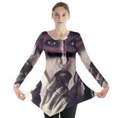 Femininely Badass Long Sleeve Tunic  by sirenstore