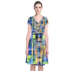 Pattern 20 Short Sleeve Front Wrap Dress