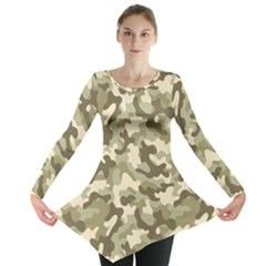 Camouflage 03 Long Sleeve Tunic  by quinncafe82