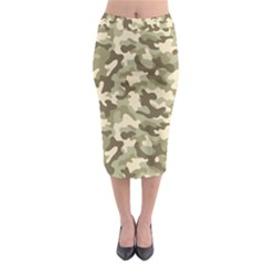 Camouflage 03 Midi Pencil Skirt by quinncafe82