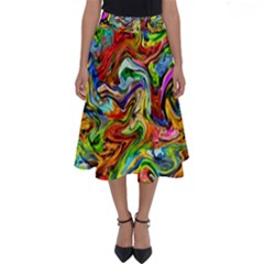 P 867 Perfect Length Midi Skirt by ArtworkByPatrick