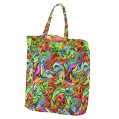 P 867 Giant Grocery Zipper Tote by ArtworkByPatrick