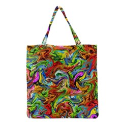Pattern 21 Grocery Tote Bag by ArtworkByPatrick