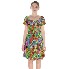 Pattern 21 Short Sleeve Bardot Dress